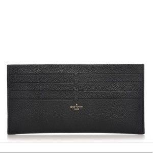 Louis Vuitton Black Calfskin Felicie Card Insert